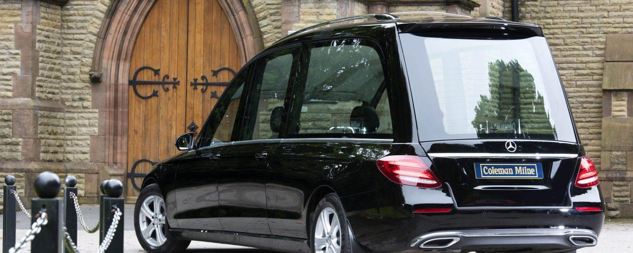 Mercedes E Class Classic Hearse For Sale Coleman Milne