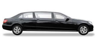 e-class limo side view