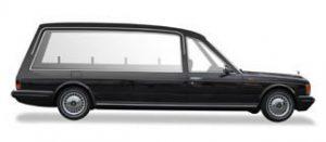 rolls royce hearse side view