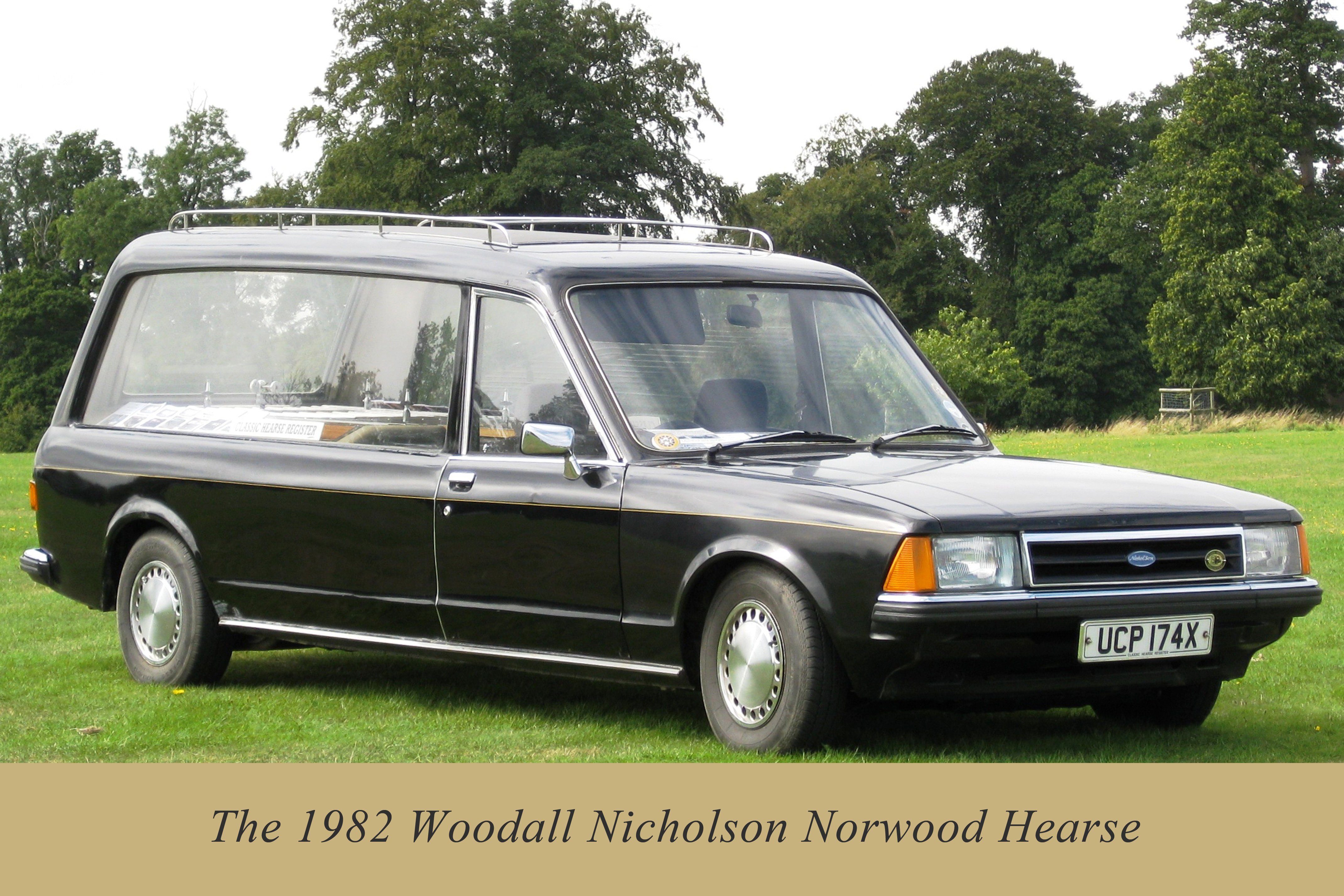 Coleman milne introduce old friends at nfe 2015 for Used mercedes benz hearse for sale