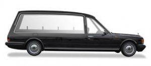 rolls royce hearse side view