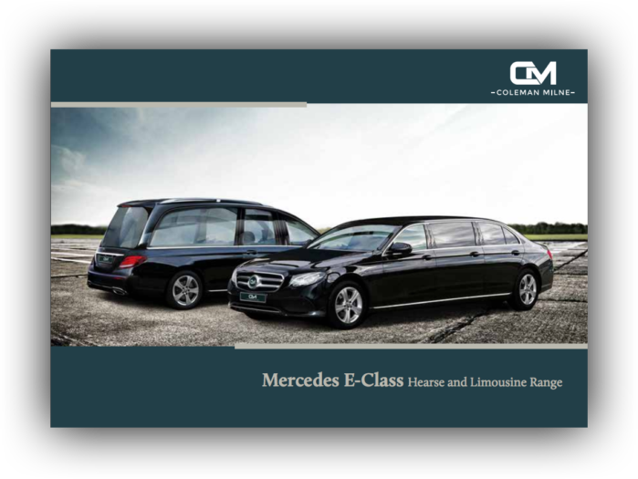 Front cover of the Mercedes Range brochure